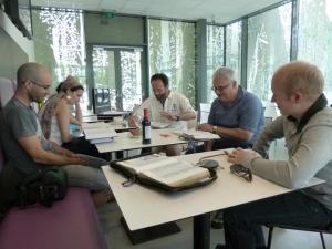 Meeting at the new Cuiz'Inn Heverlee resto Noord