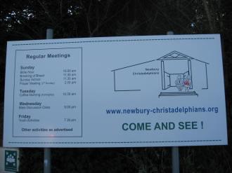 Newbury Sign Board