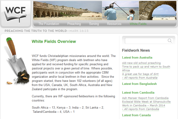 WCF White Fields Overview