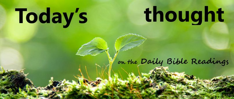 """Today's thought """"Proclaiming the Message"""" (August 27)"""