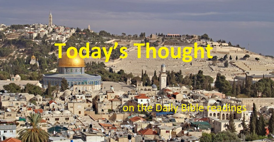 "Today's Thought ""Given for a light to the Gentile"" (June 24)"